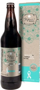 Stephanie's Dubbel - limited edition brew for lung cancer research