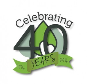 Neighborhood Health 40th Anniversary logo