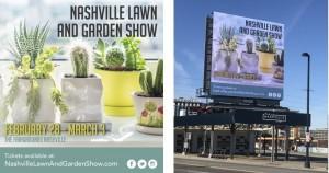 Nashville Sign design and live