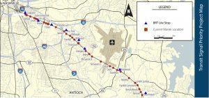 Murfreesboro Rd TSP project map
